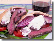 Steak in Pita