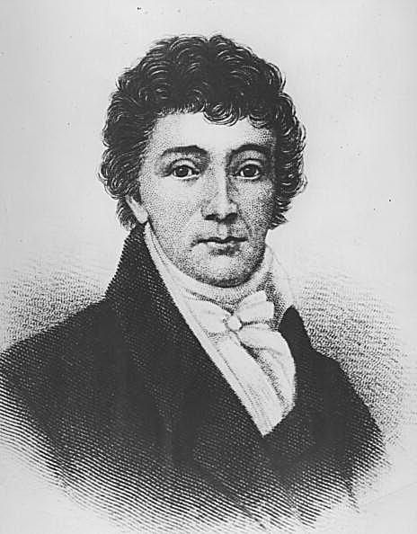 Picture of American lawyer Francis Scott Key.