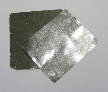 Iridium is a bright silvery-white metal, with a slight yellowish cast.