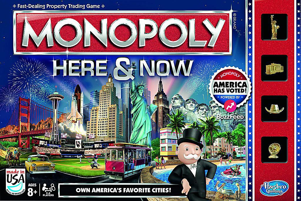 Monopoly Here Amp Now U S Board Game Changes