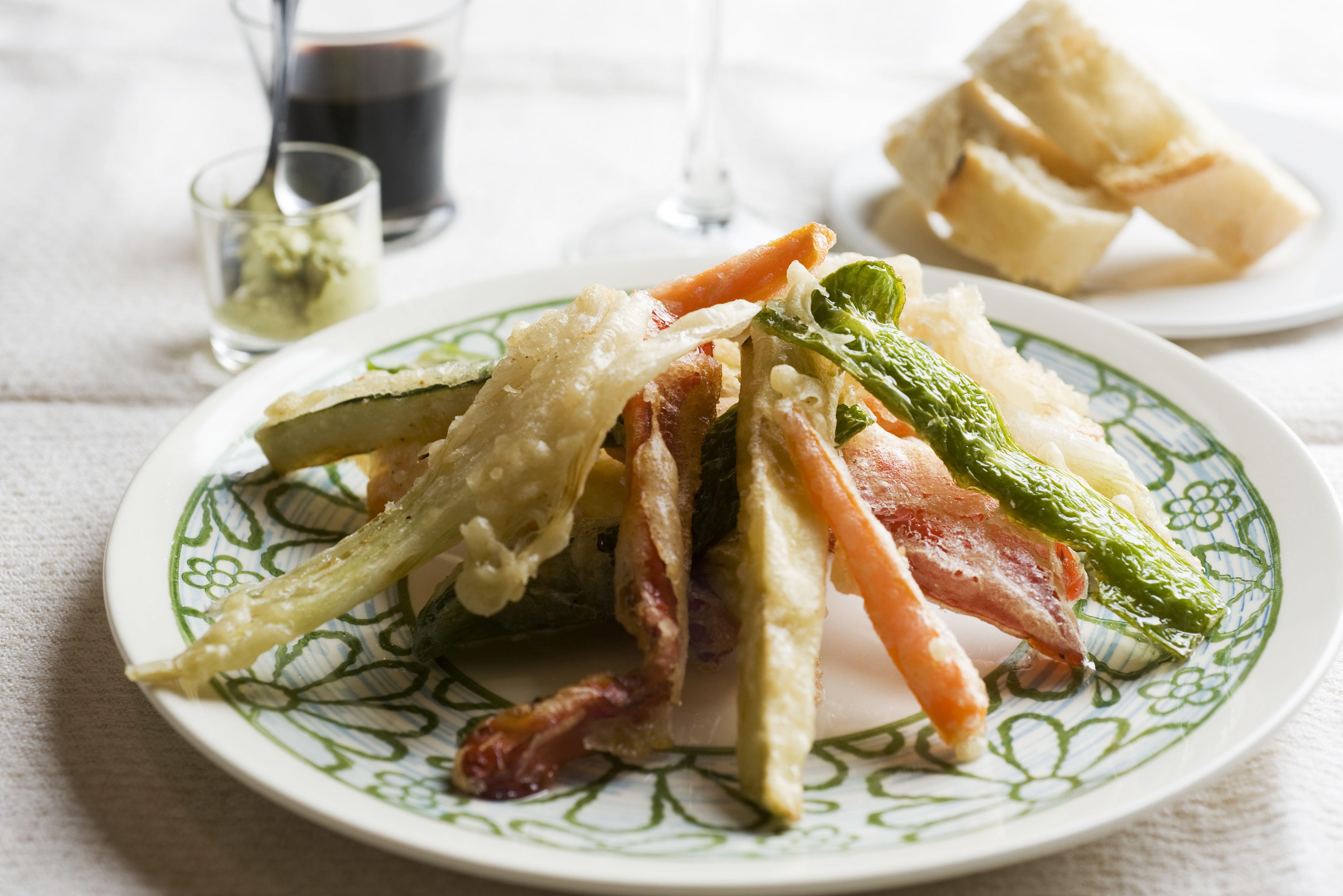 Vegetarian Vegetable Tempura Recipe