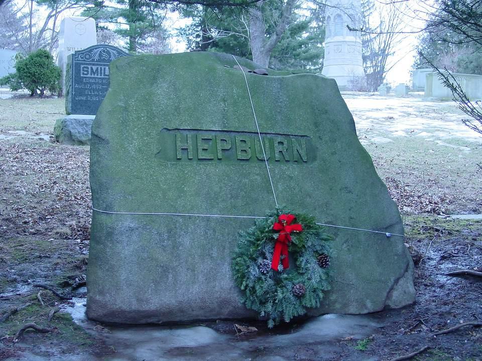 Katharine Hepburn Grave