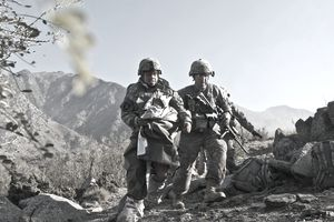 Just another day for combat medic