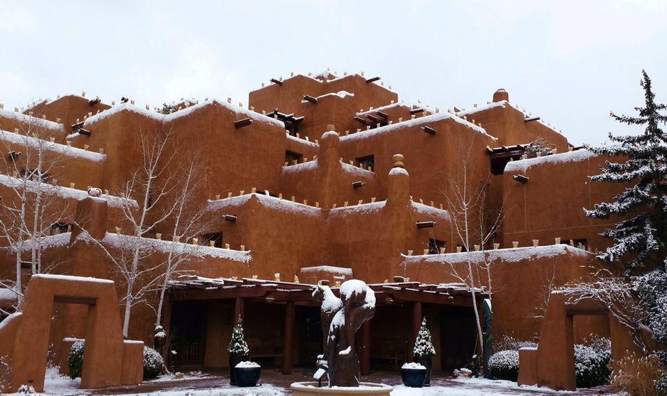 Inn and Spa at Loretto hotel in Santa Fe New Mexico