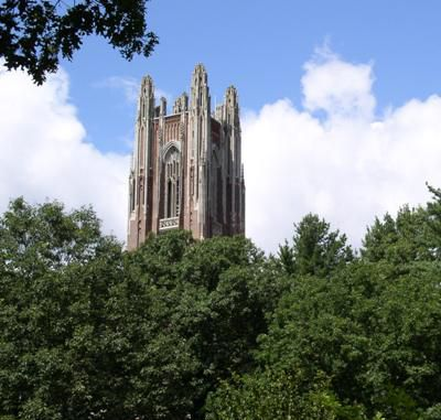 The Tower of Green Hall at Wellesley College