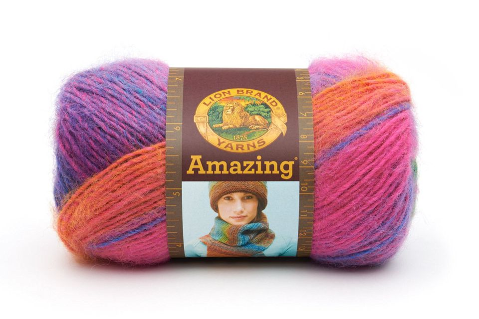 Lion Brand Self-Striping Yarn