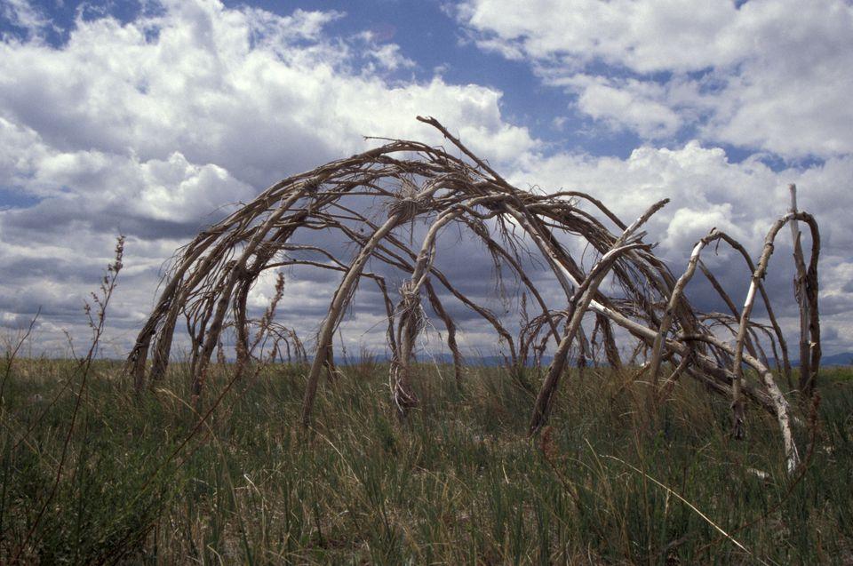 native-american sweat lodge