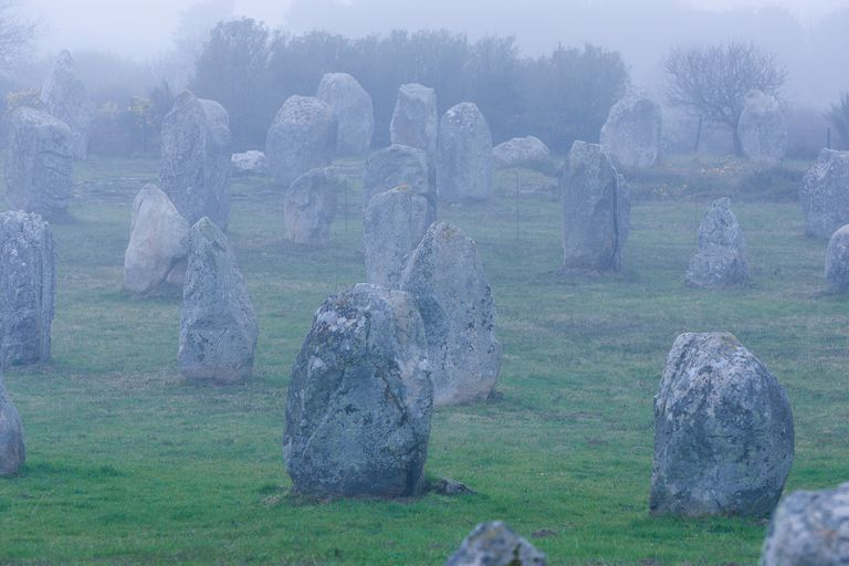 Carnac Standing Stones, Brittany