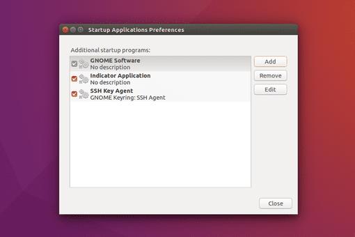Ubuntu Startup Applications