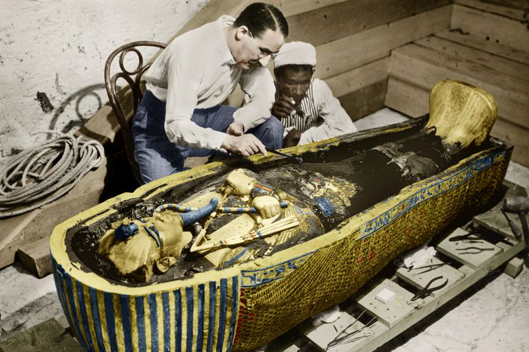 Howard Carter King Tuts tomb