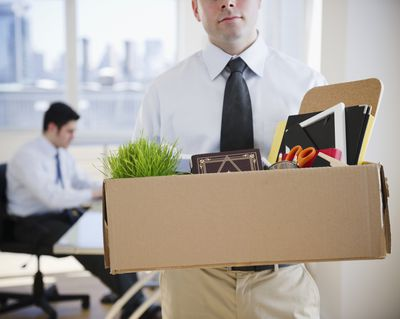 what to do when you get fired
