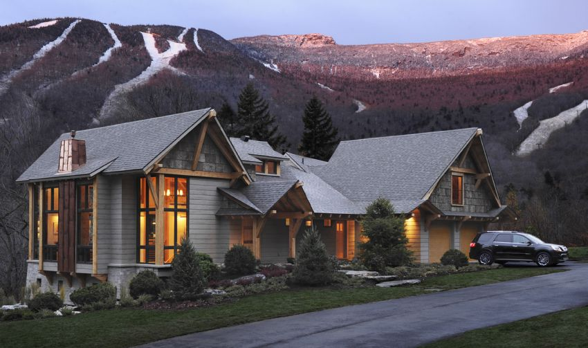 Tour Of The 2011 HGTV Dream Home In Stowe, VT