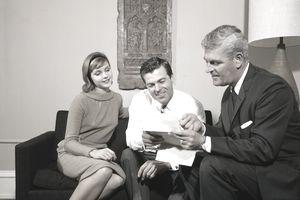 1960s COUPLE MAN WOMAN...