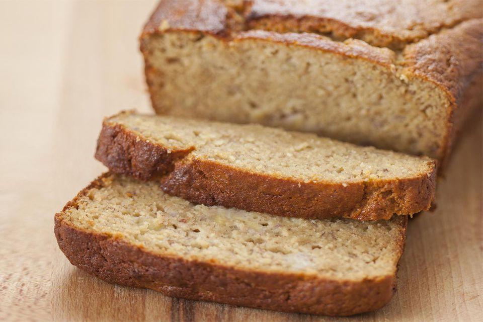 Fresh baked gluten free banana bread