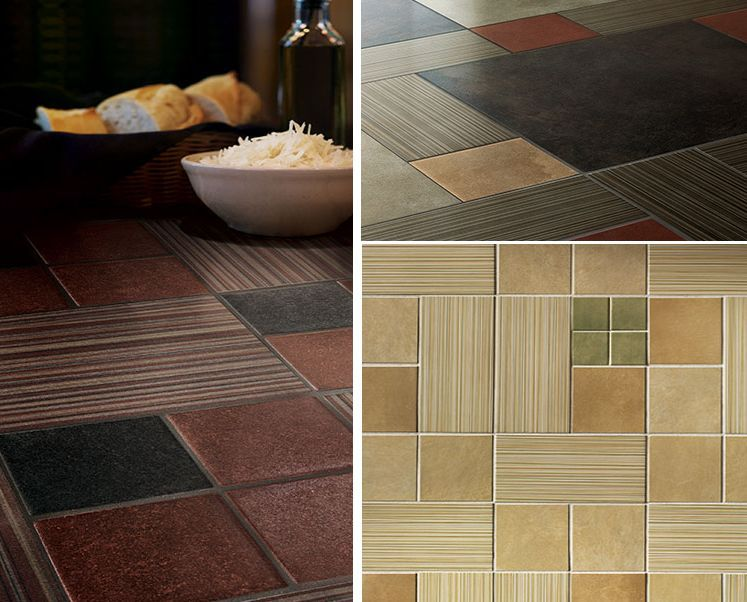 Colorful Kitchen Counter Tile