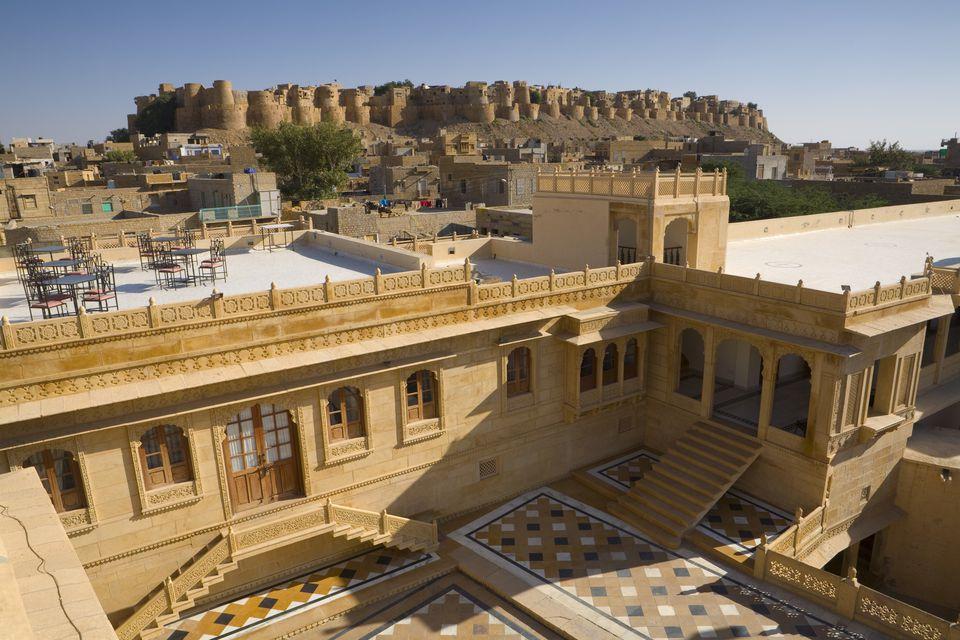 Mandir Palace Hotel & Jaisalmer Fort