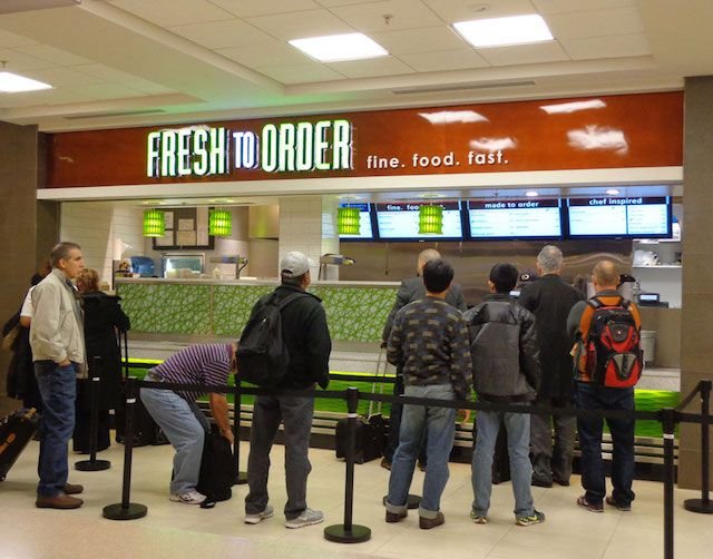 Fresh Healthy Cafe Atlanta Airport Menu