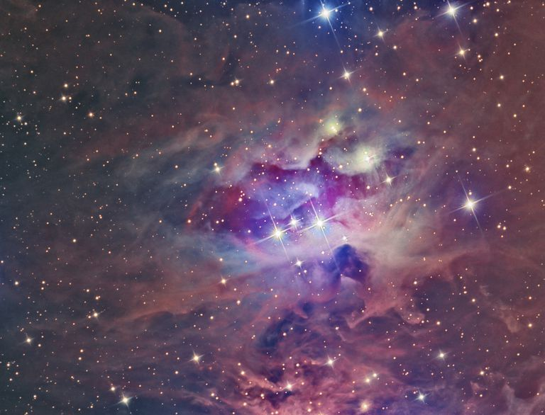 Over 75% of the matter in the universe is hydrogen. Helium accounts for most of the other quarter, with the other elements accounting for less than one percent.