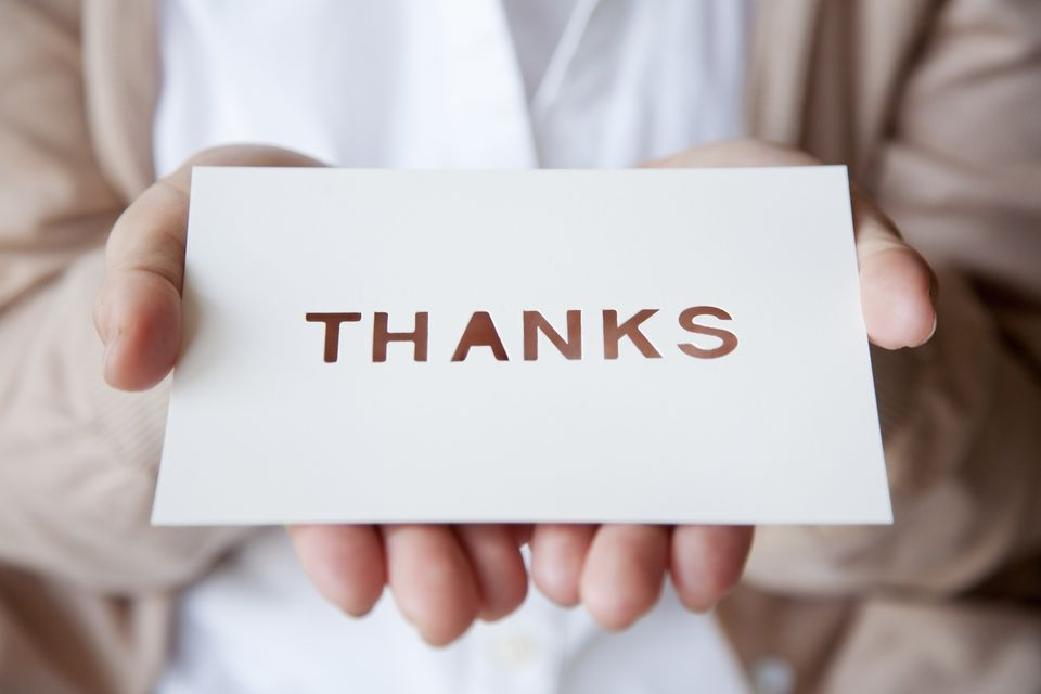 Sending A Thank You Card Is An Important Way To Show Your Gratitude During Wedding