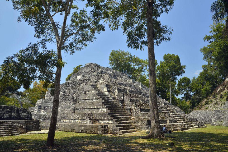 Yaxha Archeologial site, Peten, Mundo Maya, Guatemala,Central America