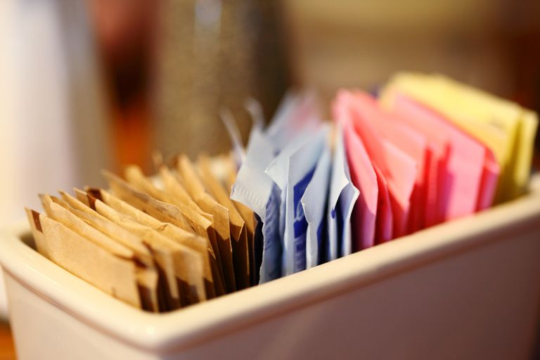 artificial sweeteners (list) for weight loss