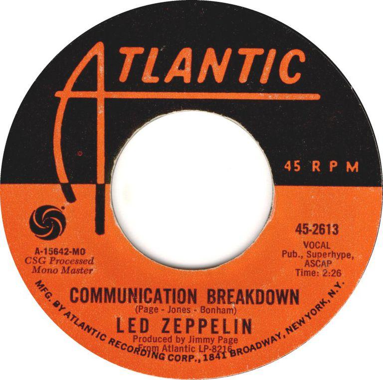 Led Zeppelin Communication Breakdown