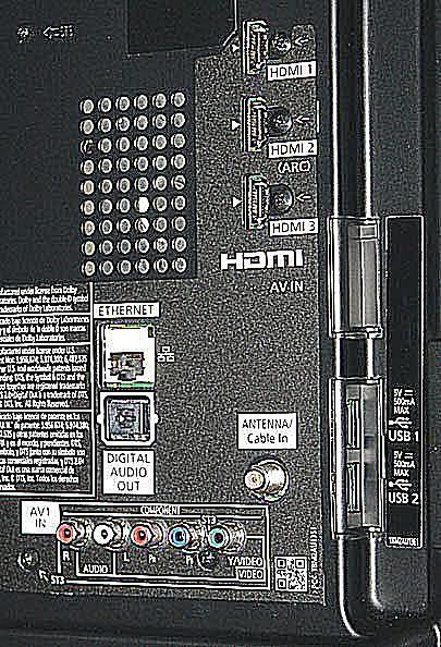 panasonic viera tv connections. panasonic tc-l42e60 smart viera led/lcd tv - photo connections tv