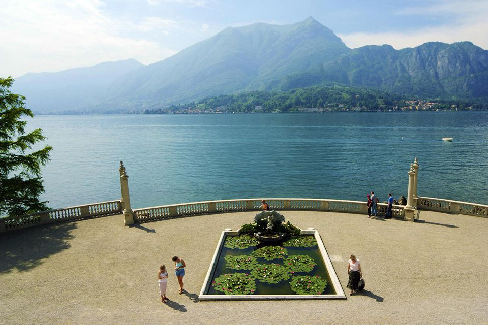Italy, Lombardy, Como Lake, Bellagio, Villa Melzi