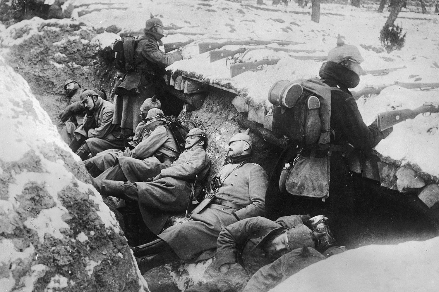 a study on trench war The trenches became the battle ground of the great war and they  trench  warfare meant a slow long drawn out war, a stalemate men would be  this  must have been a difficult hub to research and have on one's mind for.