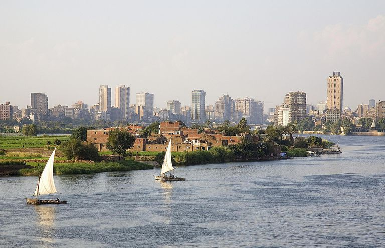 Nile river at Cairo