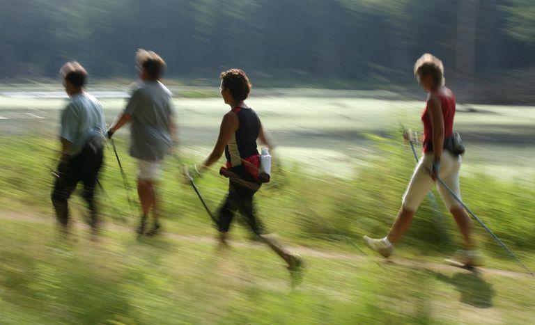 Nordic Walkers in Denmark