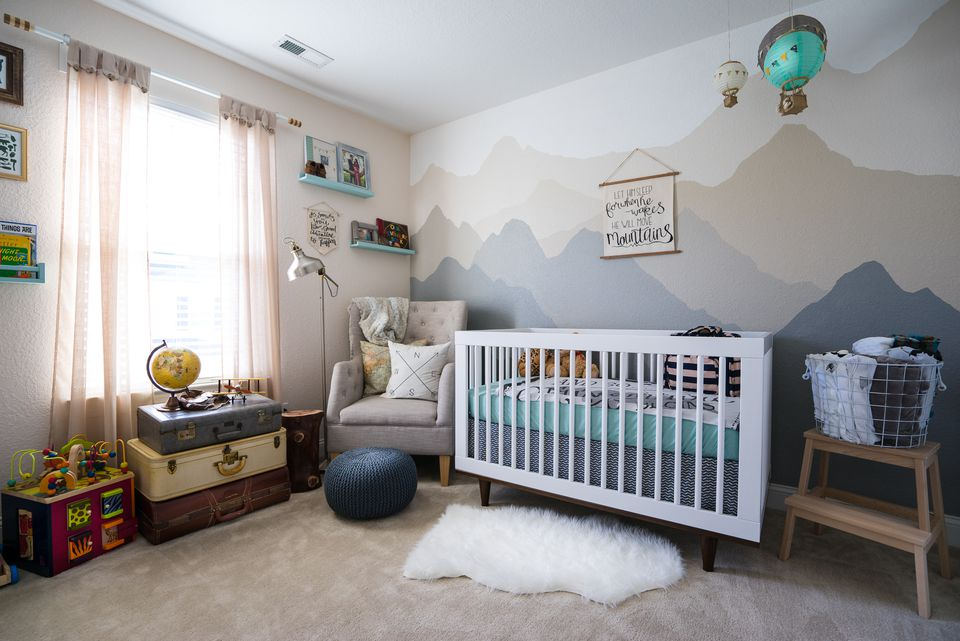 Baby Boy Nursery Paint Ideas