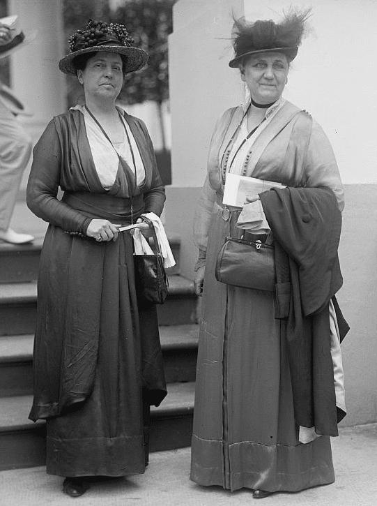 Lillian Wald and Jane Addams