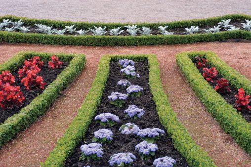 Geometric Garden Beds