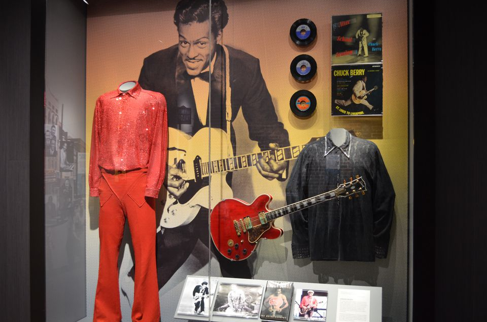 Chuck Berry Exhibit at National Blues Museum