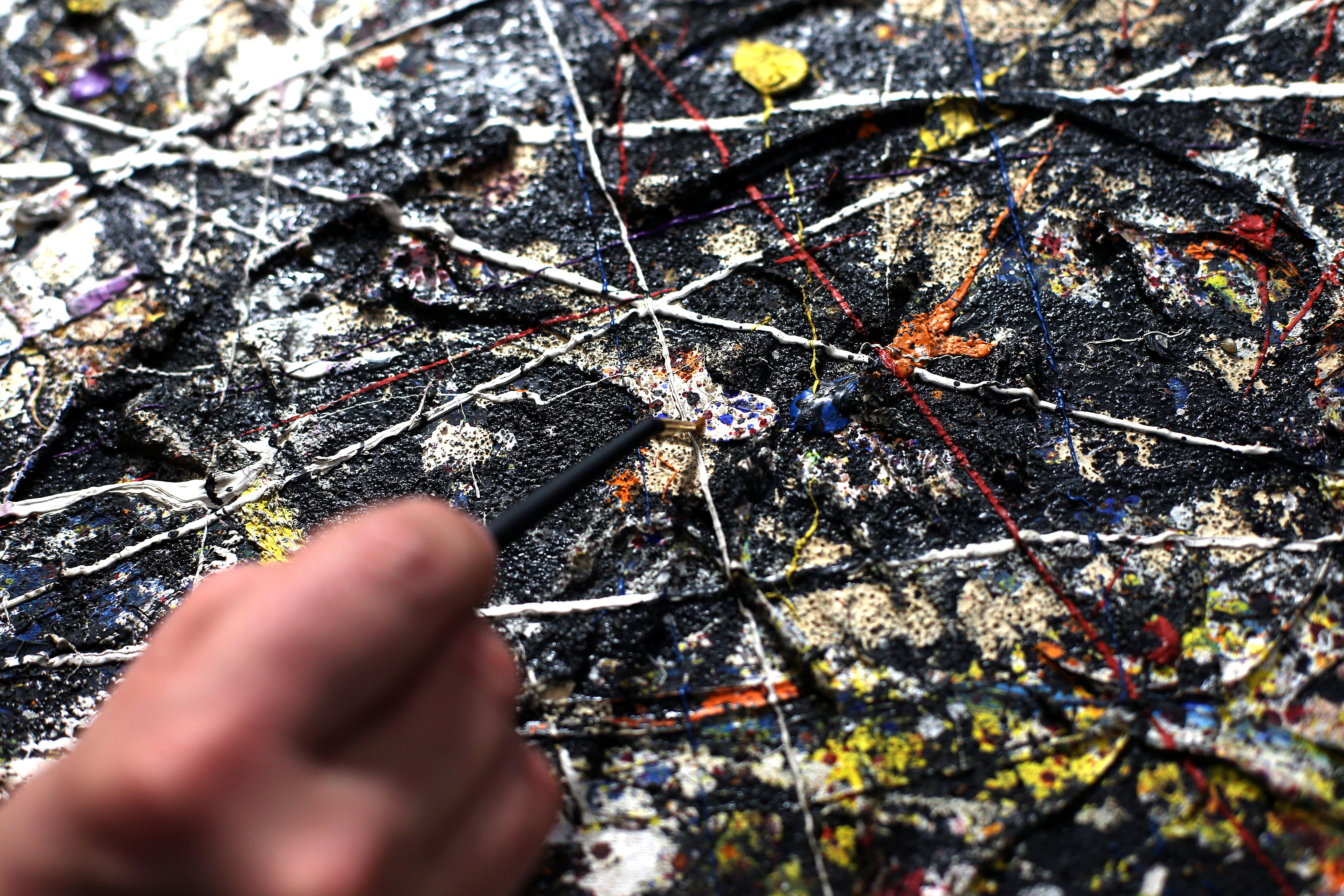 What Paint Did Jackson Pollock Use