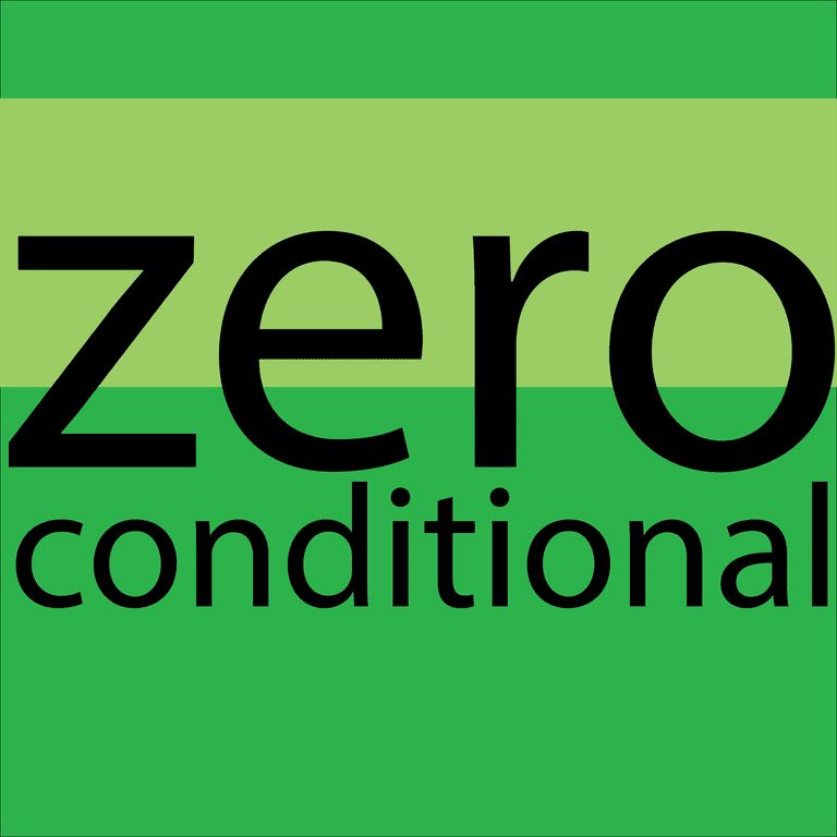 zero conditional - el condicional cero