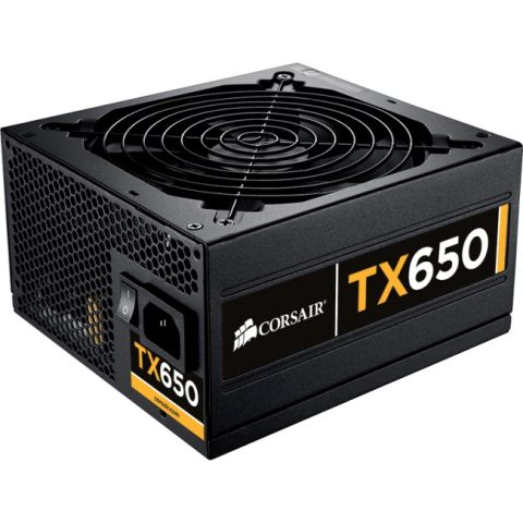 Photo of a Corsair Enthusiast TX650 V2 ATX12V EPS12V Power Supply
