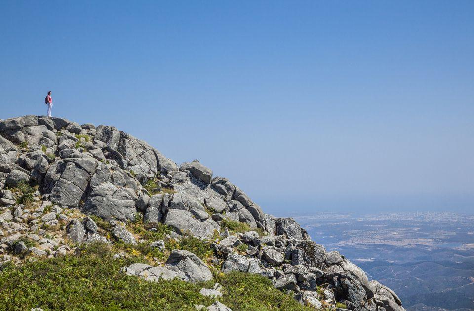 peak of Foia mountain Algarve