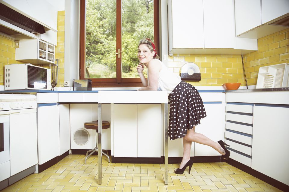 1950S Kitchens Enchanting Kitchen Trends Introduced In The 1950S Inspiration