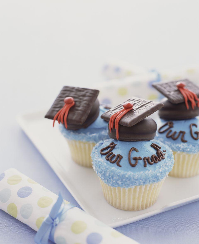 Graduation Cap Cupcake Topper Recipe