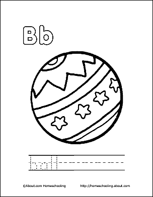 Print The Pdf Ball Coloring Page And Color Picture Use Your Back Button To Return This Choose Next Printable Sheet