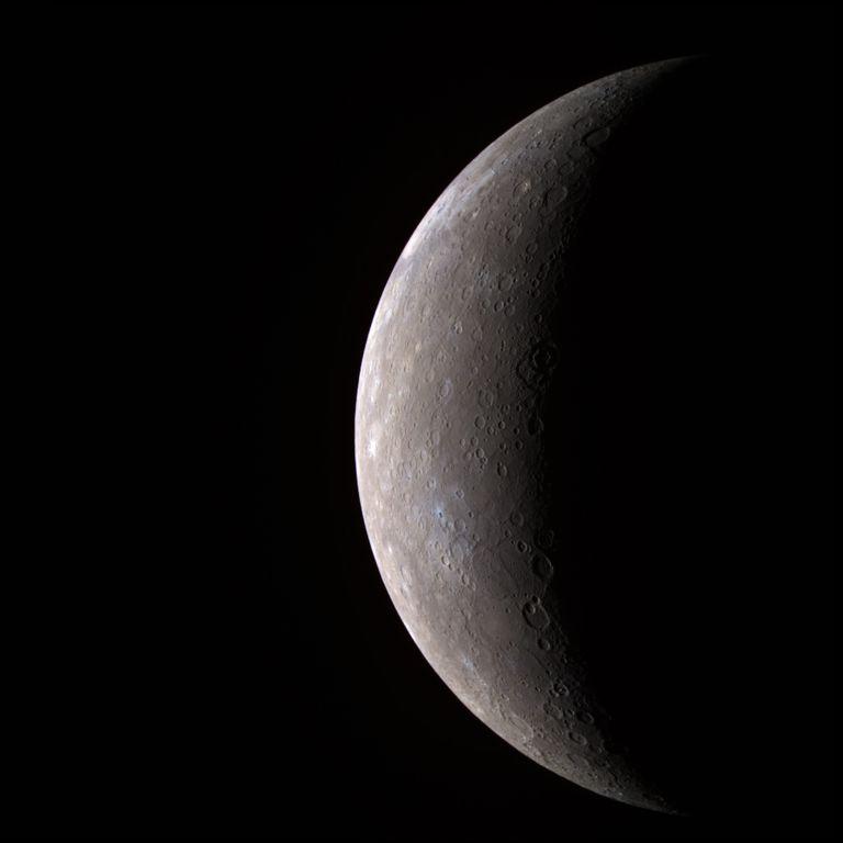 Messenger Spacecraft Images of Mercury - Mercury -- In Color!!
