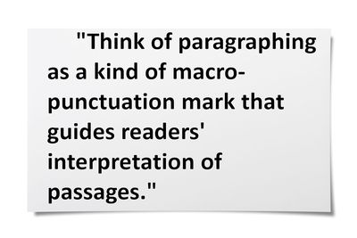 writers on writing the art of paragraphing - Narrative Essay With Dialogue Example