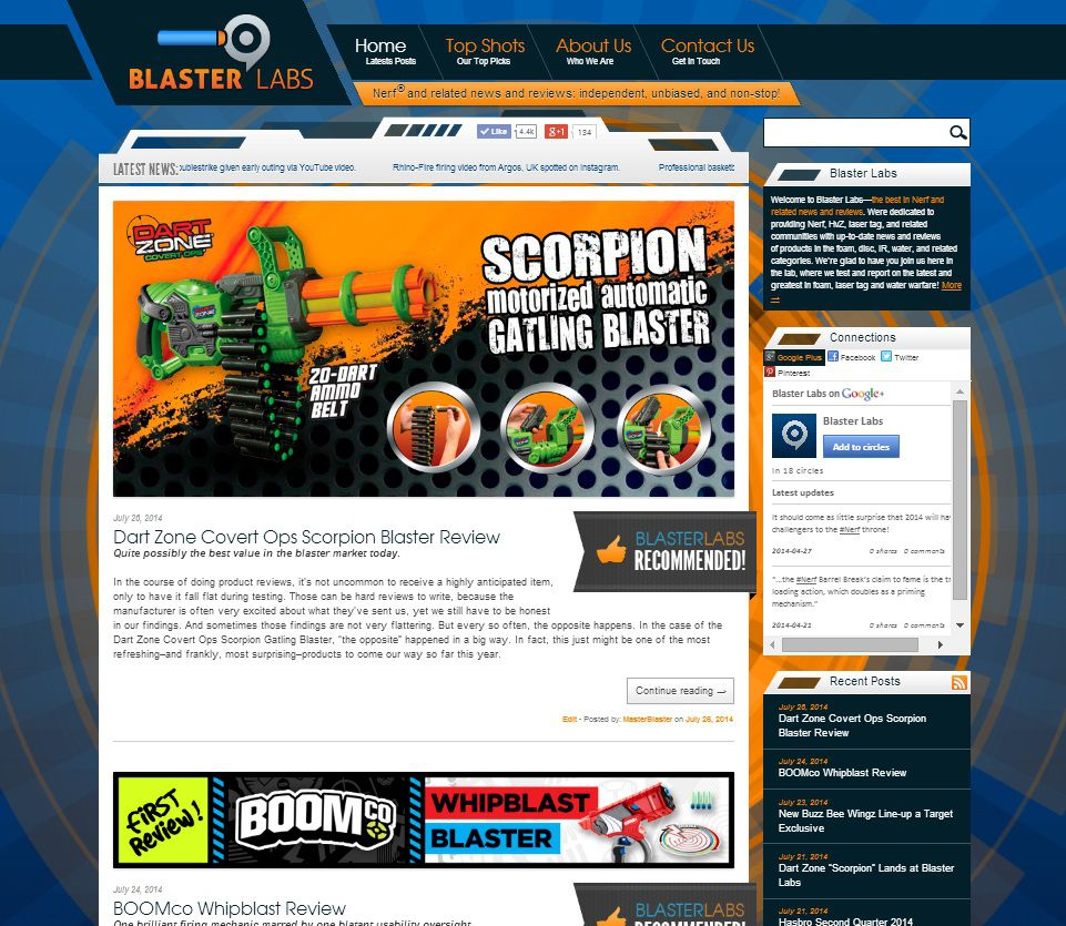 Proven methods for creating a successful nerf blog or Channel 7 better homes and gardens recipes
