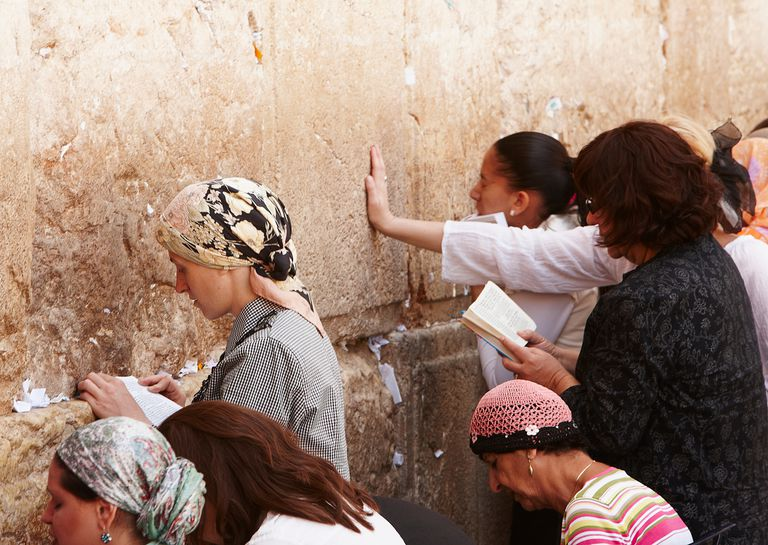 Visiting the kotel on fast days in Judaism