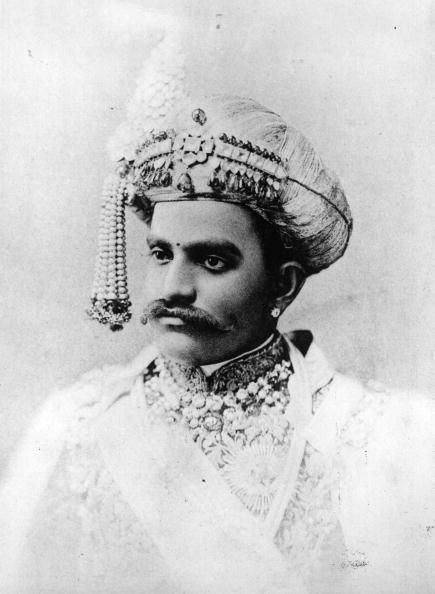 The Maharaja of Mysore, 1920.
