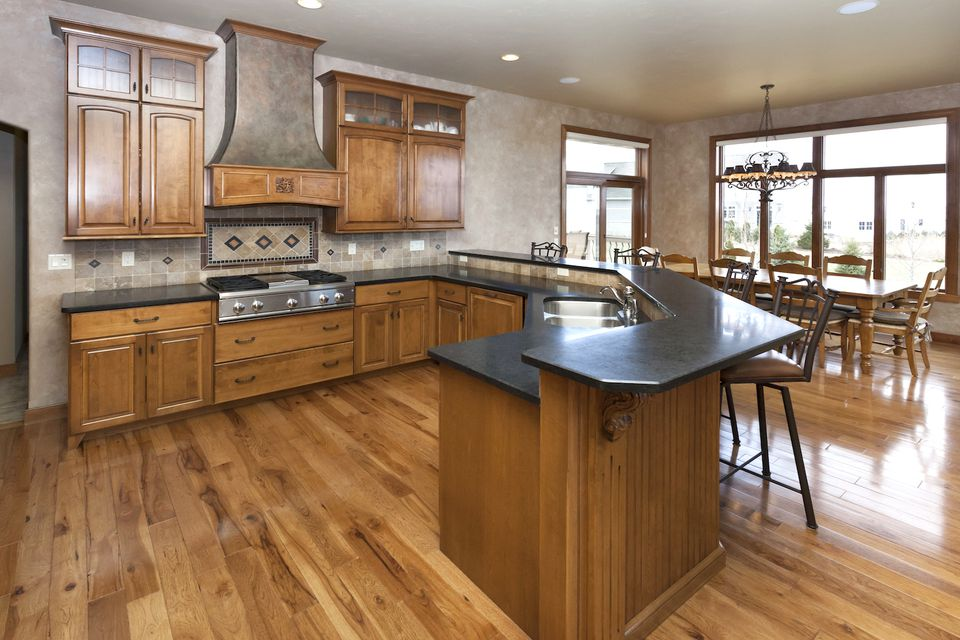 black granite countertops ideas