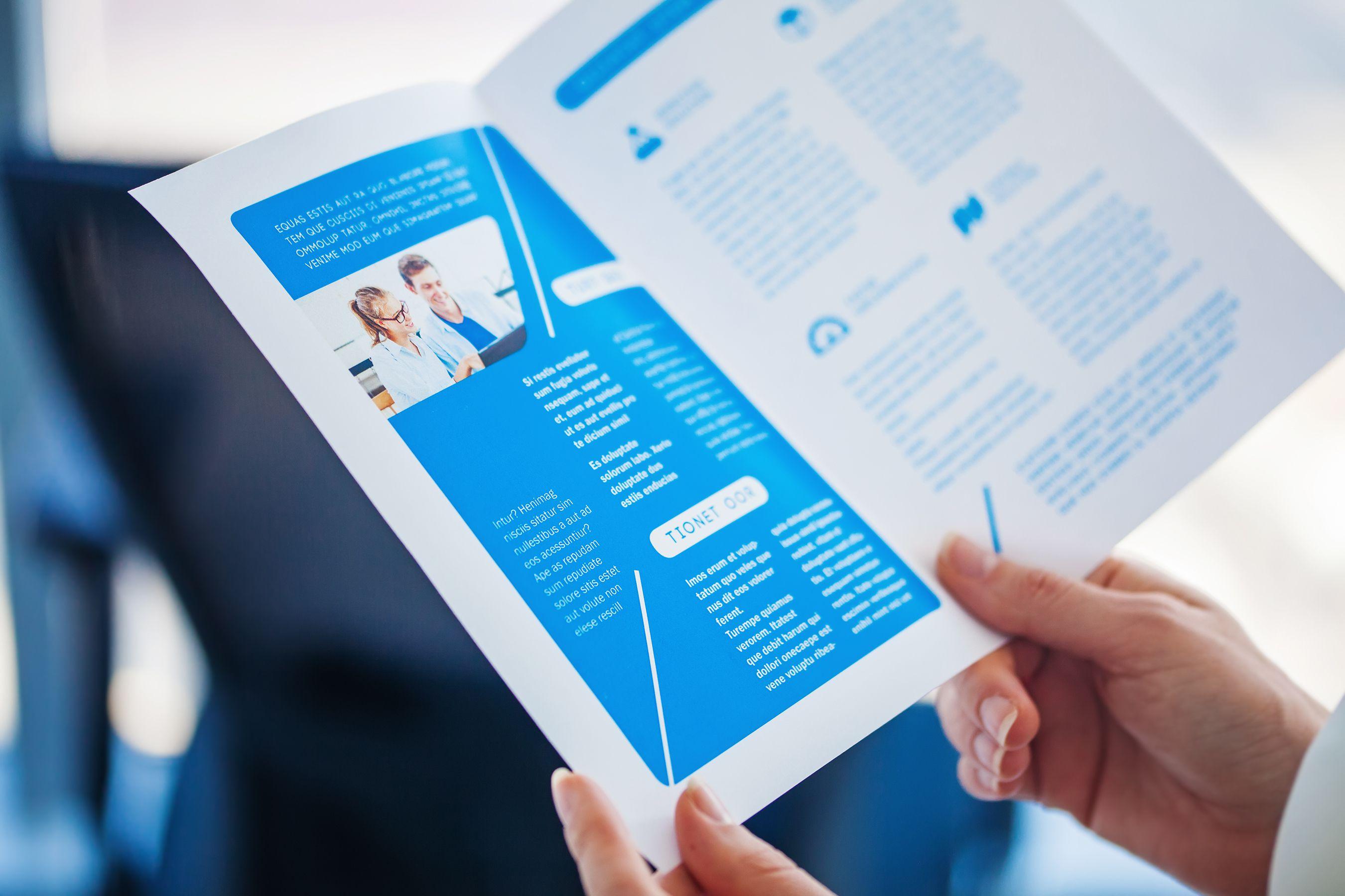 creating a brochure using microsoft office 9 steps brilliant ideas