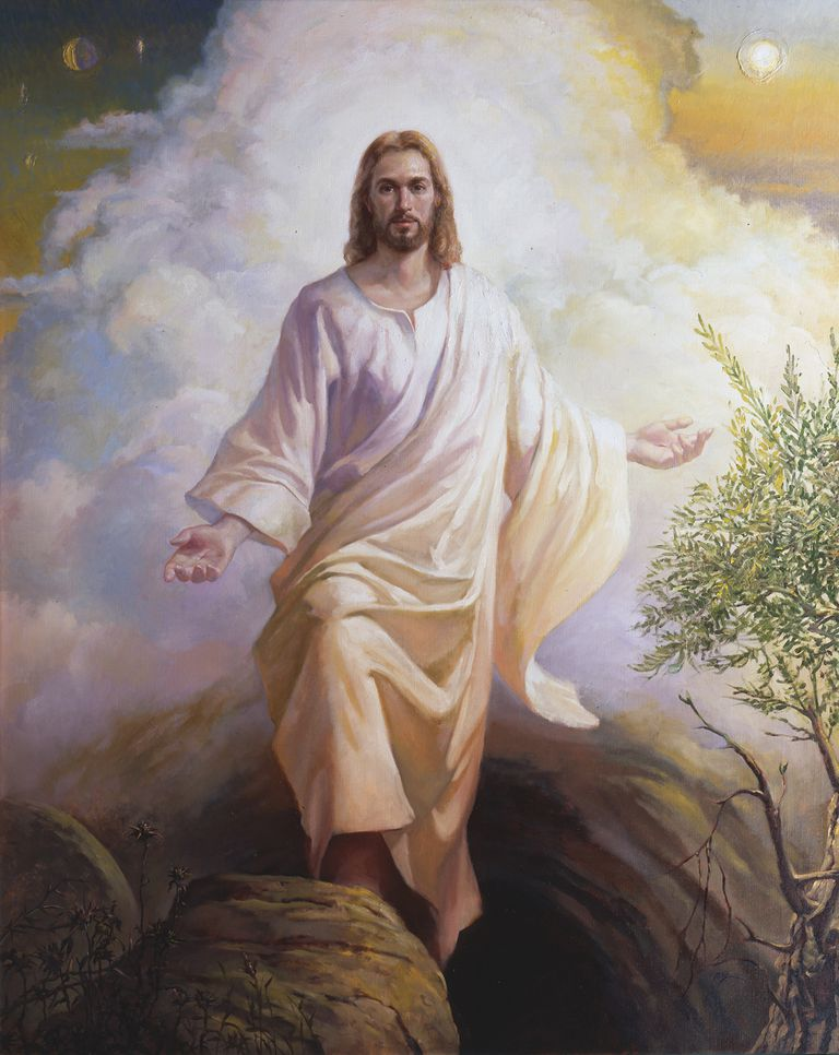 Painting of the Resurrected Christ